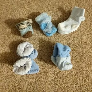 Other - Newborn socks and booties